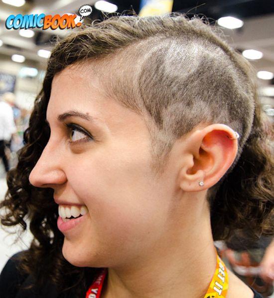 Cosplay Bat Haircut