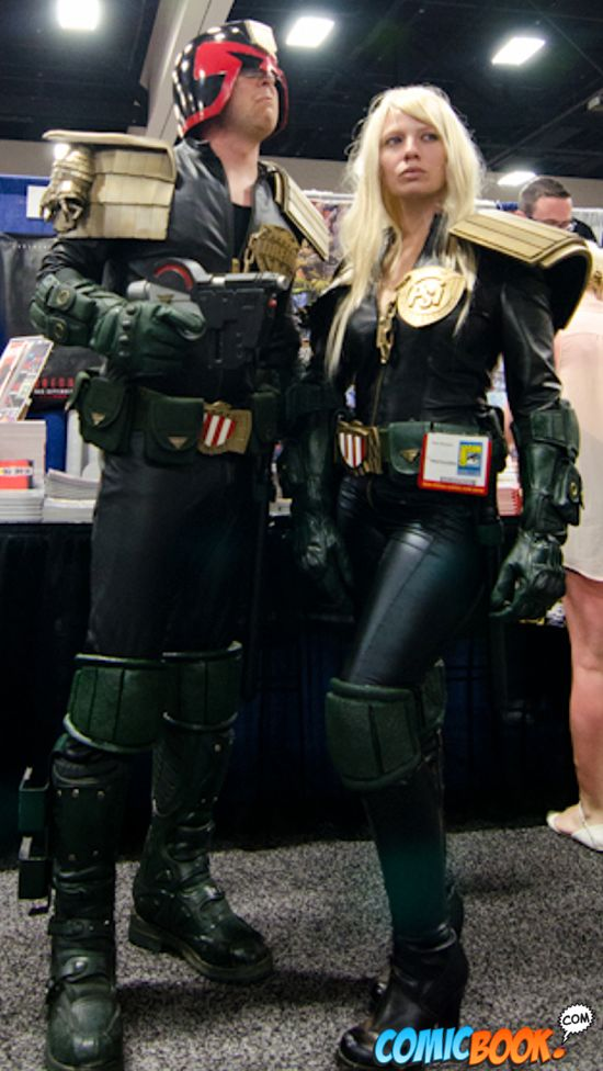 Cosplay Judge Dredd