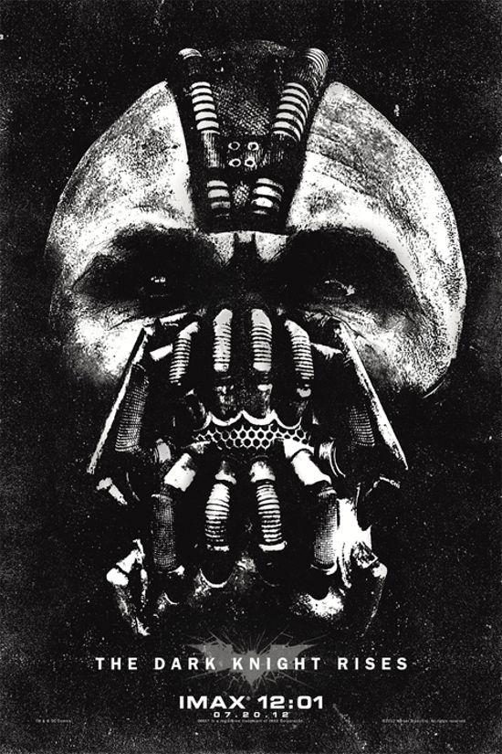 The Dark Knight Rises IMAX Premiere poster