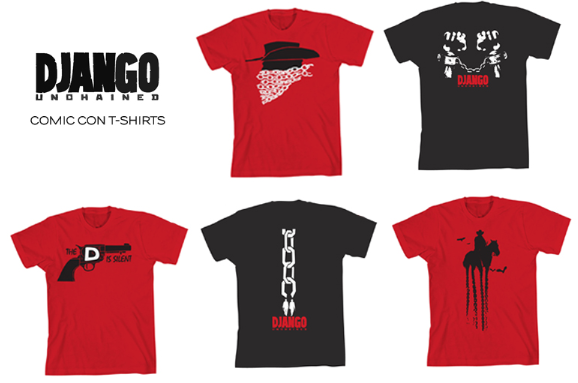 Django Unchained: How to Score Comic-Con Exclusive T-Shirts