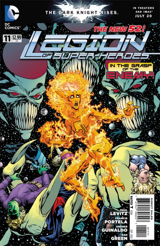 Legion Of Superheroes #11 Cover