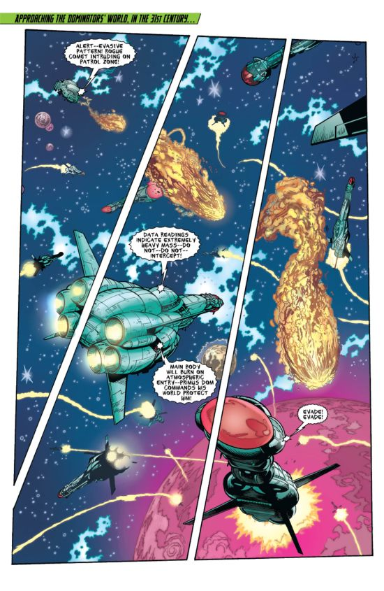 Legion Of Superheroes #11 Page 1