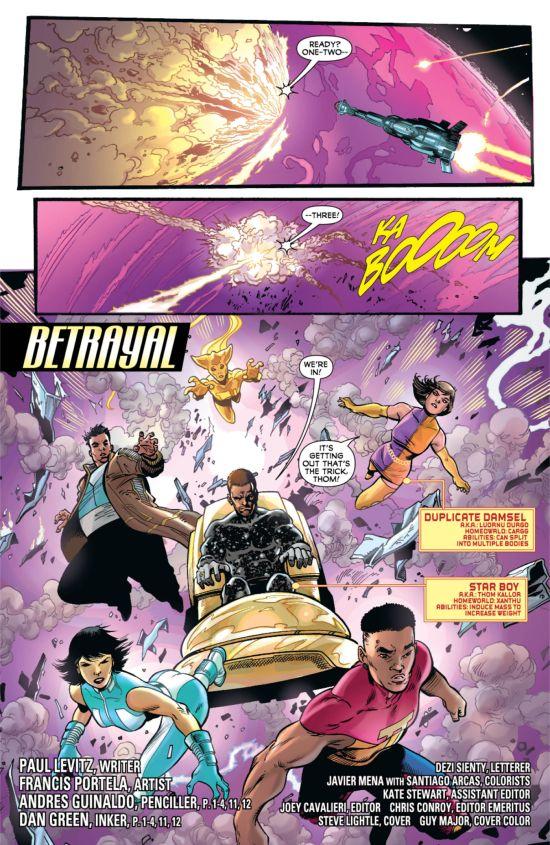 Legion Of Superheroes #11 Page 2