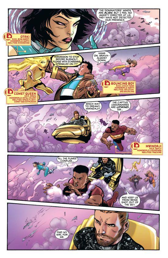 Legion Of Superheroes #11 Page 3