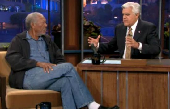 Morgan Freeman on Tonight Show
