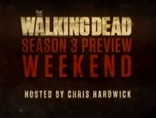 The Walking Dead Season 3 Preview Weekend