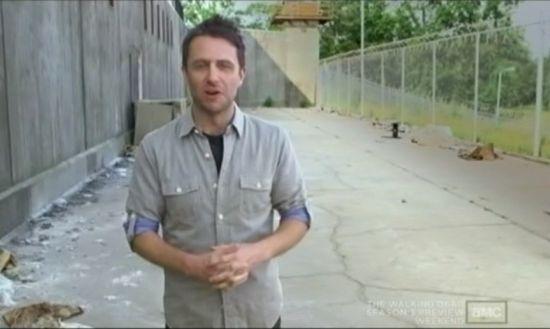 The Walking Dead Season 3 Prison Set