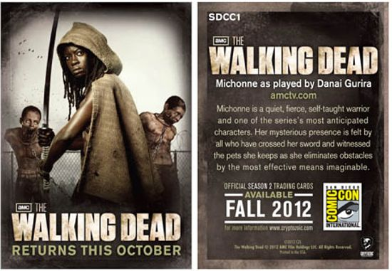 The Walking Dead Trading Cards