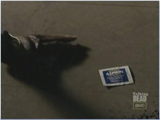 Walking Dead Season 3 Aspirin