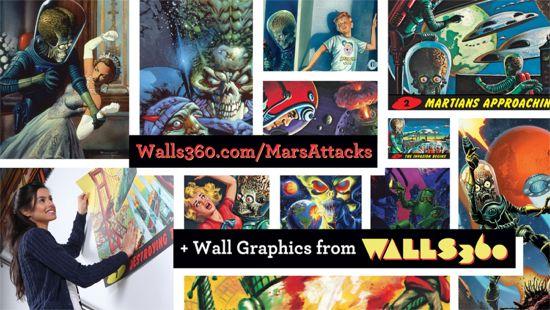 Walls 360 Mars Attacks