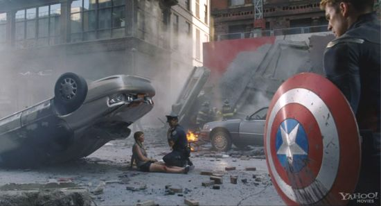 The Avengers deleted opening