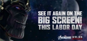 Avengers Re-Release