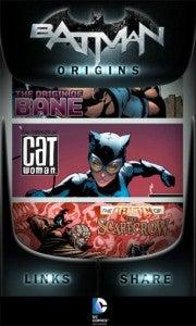 Batman Origins app