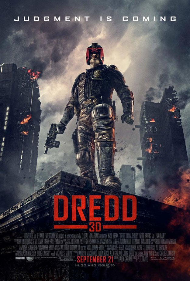 Dredd 3D Clip Sets Up the Stand-Off