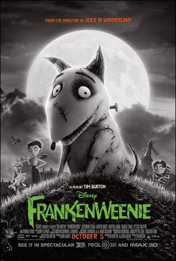 Taken 2, Frankenweenie Both Open in the Top Five
