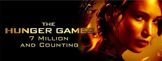 Hunger Games 7 million sold