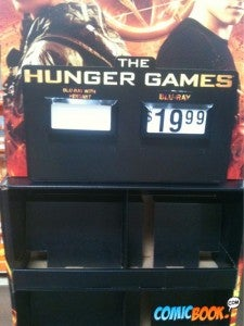 Hunger Games DVD selling out