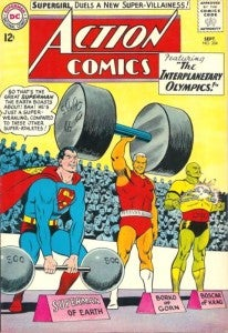 Interplanetary Olympics Superman