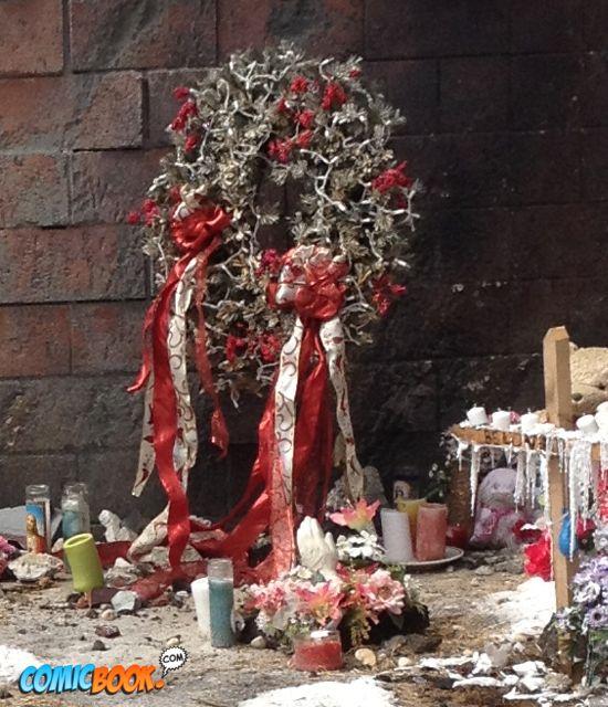Iron Man 3 set Christmas Wreath