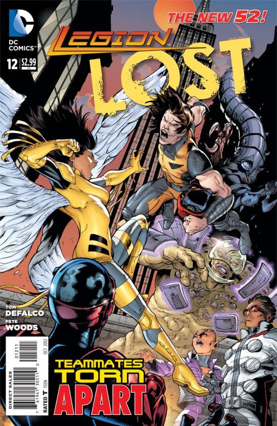 Legion Lost #12 Cover