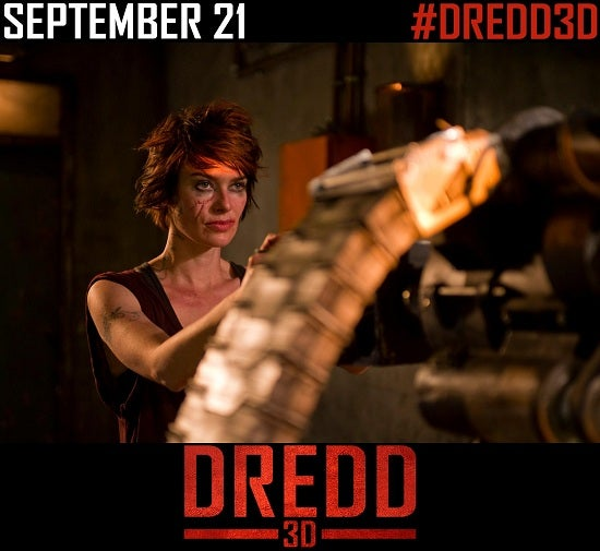 New Dredd Banner Puts Ma-Ma Front and Center