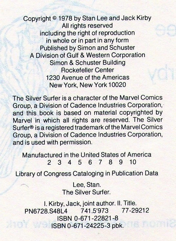 silver-surfer-copyright-page