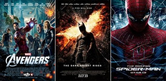superhero movies rule the box office