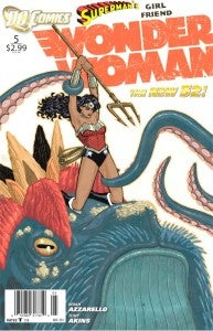 Superman's Girlfriend Wonder Woman