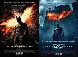 The Dark Knight Rises beats The Dark Knight