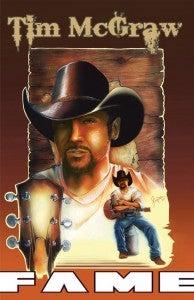 Tim McGraw comic book