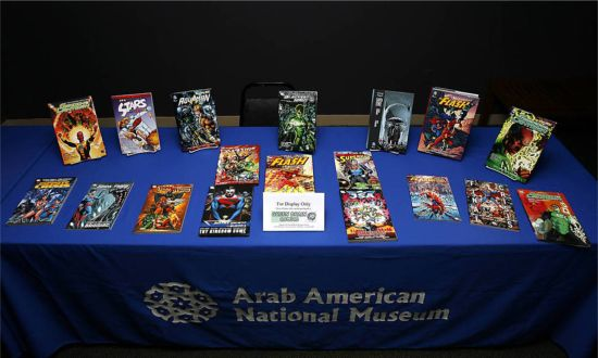 Arab American National Museum Comics