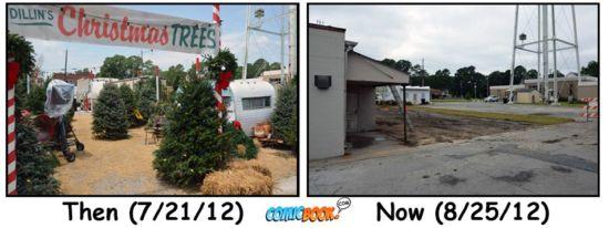 Iron Man 3 Christmas Tree Lot