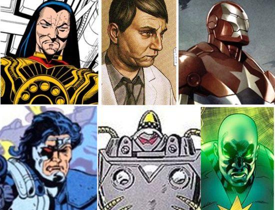 Iron Man 3 villains
