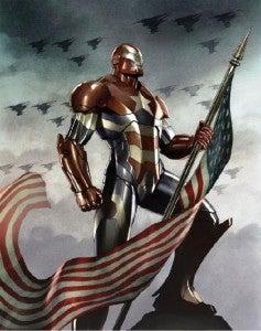 Iron Patriot in Iron Man 3