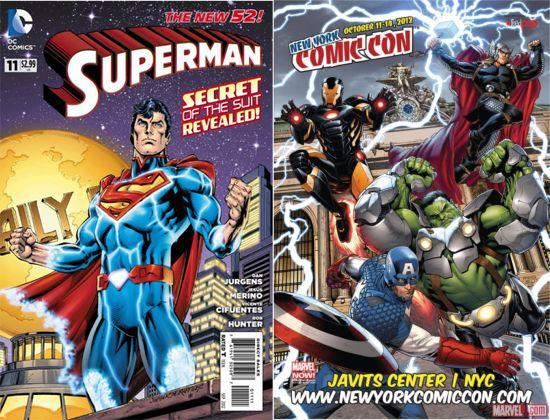 Superman and Hulk armor