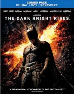 The Dark Knight Rises Combo Pack