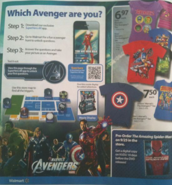 Walmart Avengers Ad Page 4
