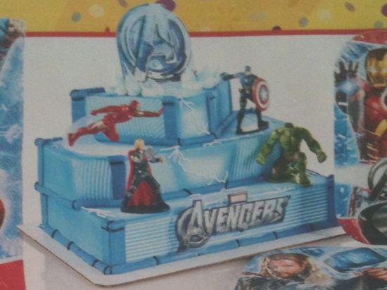 Walmart Avengers Cake