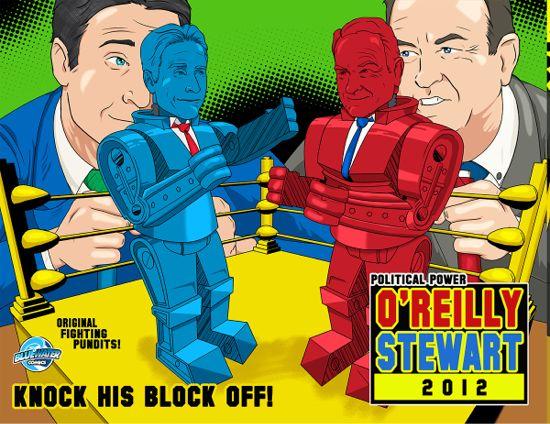 Bill O'Reilly Vs. Jon Stewart Comic Book