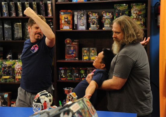 Comic Book Men 2 Ming Punched