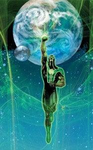 Green Lantern Panel