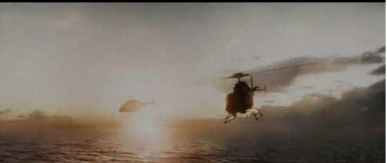 Iron Man 3 helicopters