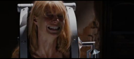 Iron Man 3 Pepper Potts in distress