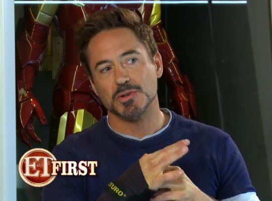 Iron Man 3 Set Visit
