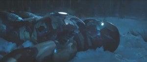 Iron Man 3 snow