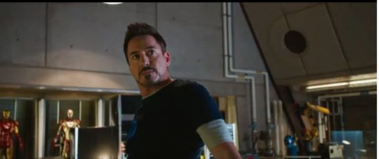 Iron Man 3 Tony Stark reacts