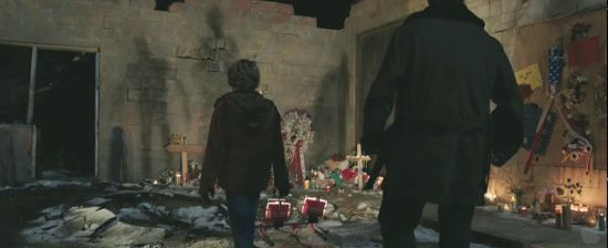 Iron Man 3 trailer memorial scene