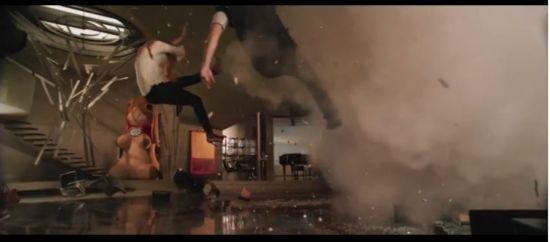 Iron Man 3 Giant Bunny Explosion