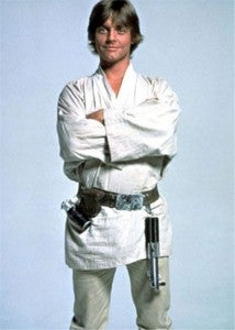 Luke Skywalker middle-aged