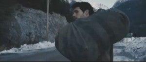 Man of Steel snow